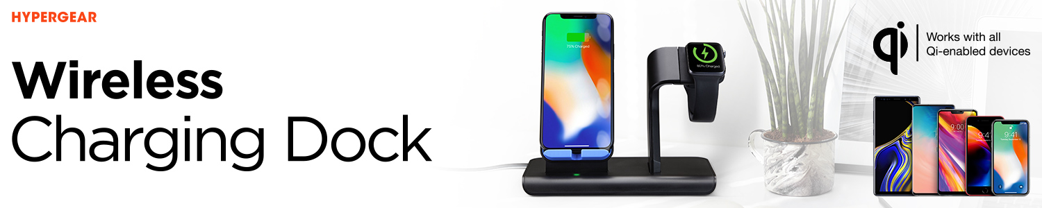 HyperGear Wireless Charging Dock