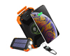Solar 10000mAh Wireless Power Bank