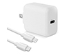 18W PD Wall Charger + USB-C to Lightning Cable