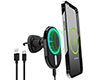 HyperGear MagVent Wireless Charging Mount for iPhone 13 Black