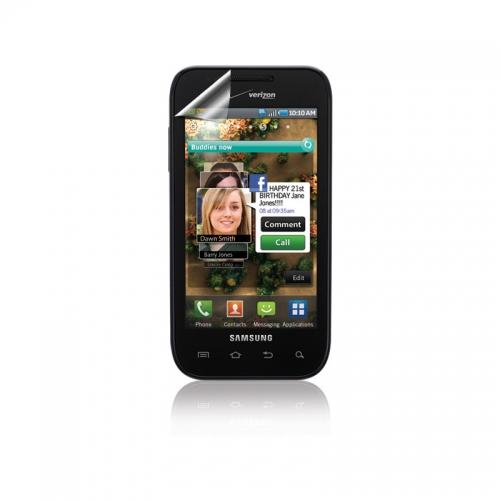 Galaxy S i500 Anti Glare Screen Protectors 3pk