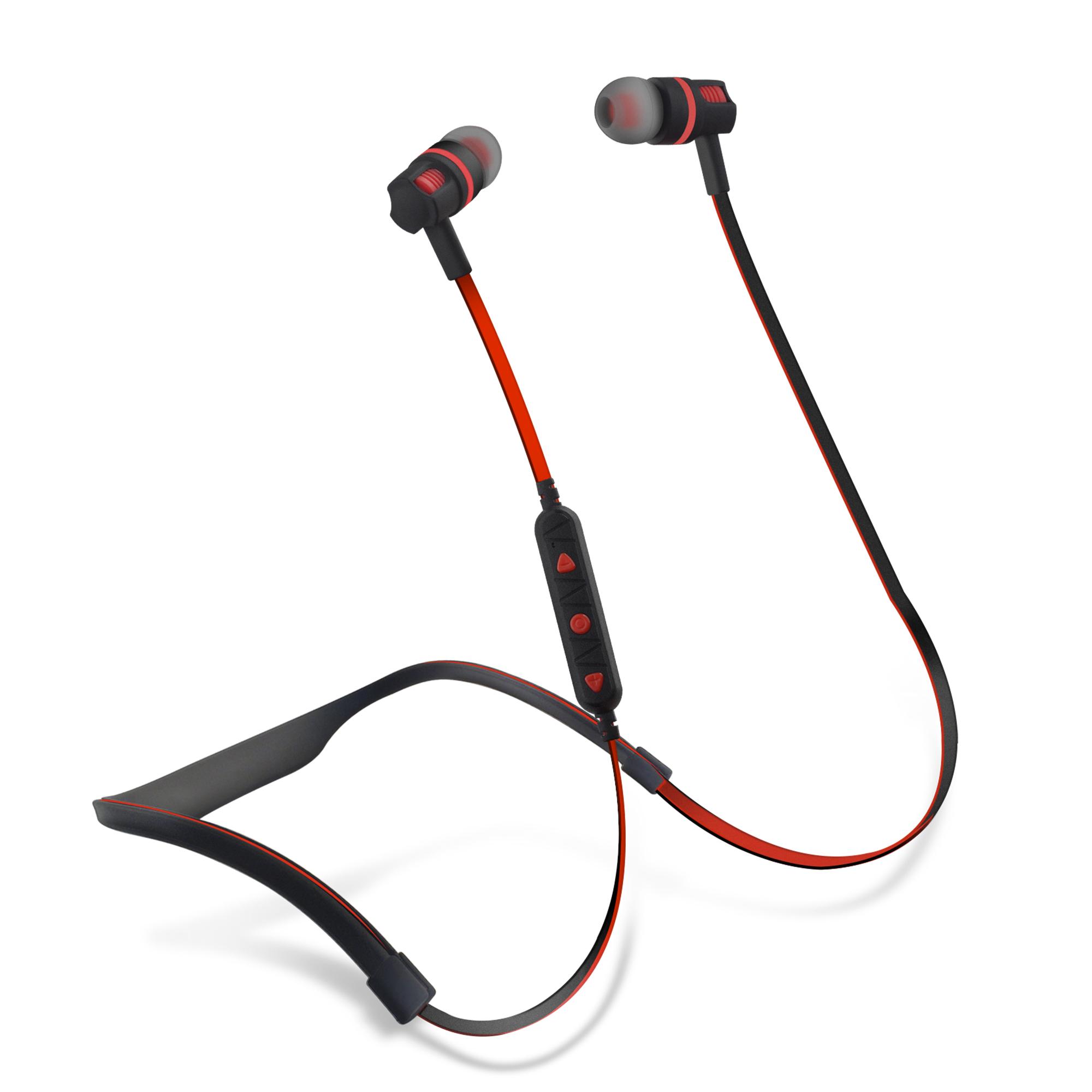 Neckband earphones bluetooth - earphones bluetooth single