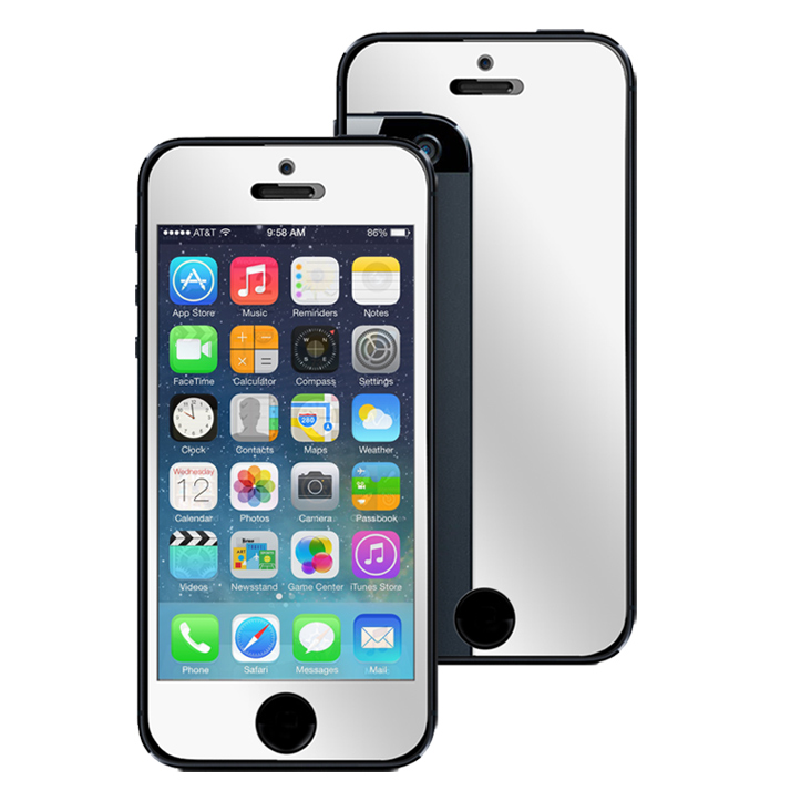 screen mirroring iphone 5 moguls iphone 5 mirror screen protector 16066