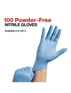 Powder-free Nitrile Gloves - 100/Box
