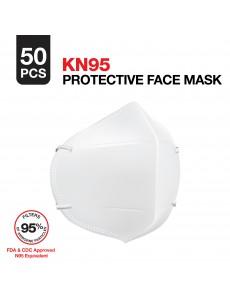 KN95 Face Mask - Bulk 50 Masks